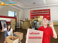 Customers appreciate the level of services as professional teams of Man and van Bromley carry out the relocation work observing strict levels of safety at each stage.