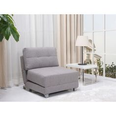 New York Ash Convertible Chair Bed | Overstock.com Shopping - Great Deals on Living Room Chairs