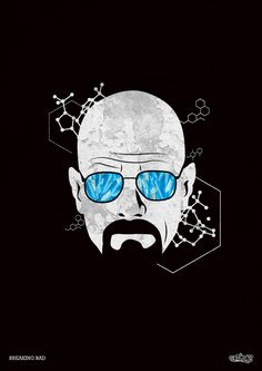 Concept corporate identity for the tv series character Heisenberg or else Walter White from Breaking Bad. Graphic Artwork, Graphic Design Illustration, Artwork Design, Breaking Bad Art, Art Of Noise, Film Serie, Cultura Pop, Vector Art, Pop Art