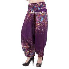 Indian Harem Gypsy Hippie Ali Baba Baggy Pants Women Trousers Boho Yoga Casual