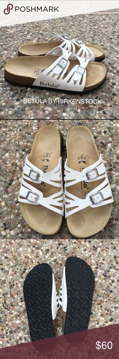 Betula Sandals by Birkenstock US size 7 These shoes are in great condition. Very comfy. I don't have the original box. These will fit a 7 big and also an 8. MY daughter only wore them a few times. Birkenstock Shoes Sandals