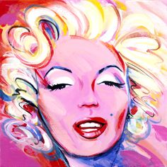 "For Sale: Modern Marilyn by Mary Maguire | $200 | 12""w 12""h 