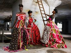 Model TV Africa | Grace Bol, Samira Carvalho and Sonya Wanda for Vlisco