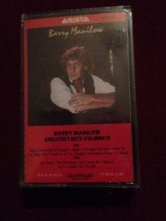 Barry Manilow Greatest Hits Vol. 2 Cassette Brand New Sealed Plastic singer