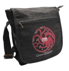 Casa Targaryen, Game Of Thrones, Small Messenger Bag, Satchel, Games, Accessories, Popular, Tv, Link