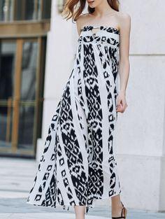 strapless maxi dress tumblr - Google Search