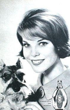 Tosca Perfume, Burda Moden March 1964 <3 the schnauser