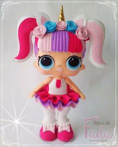 linda maluzinha Felt Crafts, Diy And Crafts, Lol Doll Cake, Ballerina Cakes, Bitty Baby, Lol Dolls, Felt Toys, Felt Art, Diy Doll