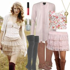 Taylor Swift Inspired Outfit