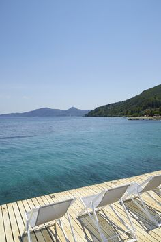 Let's enjoy  the #sun & the crystal blue waters of Marbella #Corfu!