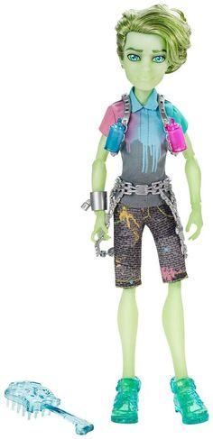 Monster High Haunted Porter Doll