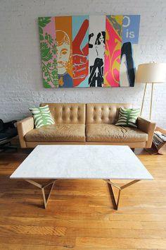 Lauren Moffat's Vintage Modern Home — House Tour