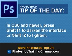 In and newer, press Shift to darken the interface or Shift to lighten. Adobe Photoshop, Learn Photoshop, Photoshop Elements, Photoshop Tutorial, Photoshop Actions, Photography Software, Photography Hacks, Photography Editing, Photography Tutorials
