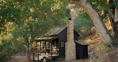 Nestled in the hills of California, is this stunning 144 sq ft cabin named the Innermost House.