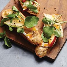Up your holiday appetizer game with this fruity, cheesy Pear & Camembert Crostini recipe.