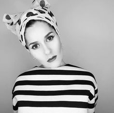 Stripes and polka dots Lace Tights, Lace Up Flats, Dina Tokio, Hijab Fashionista, Tokyo Fashion, Fashion Fashion, Turban Style, Knit Wrap, Bad Hair Day