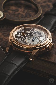 Louis Moinet 20 Second Tempograph. 40.900€ http://www.swisstime.ch/es-watches-LOUIS-MOINET-20-Second-Tempograph-p3148.html