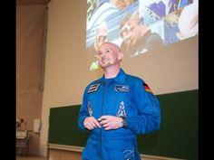 Alexander Gerst an der Universität Stuttgart - YouTube Videos, Youtube, Universe, Youtubers, Youtube Movies