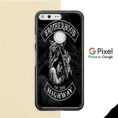 Brotherhood Of The Highway Skull Logo Google Pixel XL Case
