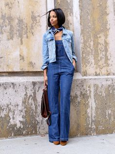 Double Denim. Love the 70's inspired dungaree. Looks a lot like this one: http://asos.do/NS8tSC