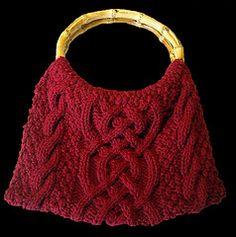 Ravelry: Celtic Braid Cabled Bag pattern by Shana Galbraith