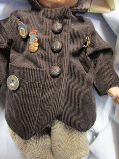 CORDJACKE-ZEITUNGSHUT-PINS-altes-Vorbild-passt-KK-Puppe-1-Hampelchen-UVP26-50Euro