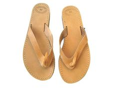 94239d0a30f488 Womens sandals Leather flip flops Greek sandals by OhSoGreek Brown Leather  Sandals