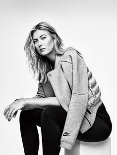Nike Tech Fleece Aeroloft Jacket 2015 Maria Sharapova