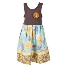 Handmade Cotton Tank Dress $38