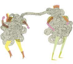 King & I by Ilona Partanen, via Behance