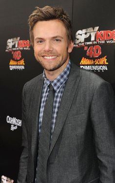 "Joel McHale. I blame my newfound love of ""Community."""