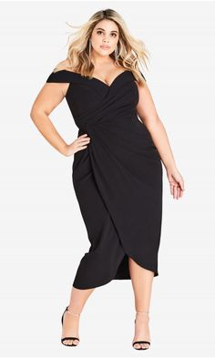 934aa3cfcf78 Shop Women s Plus Size Rippled Love Dress - Chic Boutique - Collections