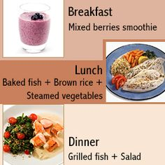 Anti-inflammatory Diet. Kindly provided a mix-n-match menu to keep on track