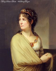 Portrait of Joséphine by Andrea Appiani. oil on canvas, about 1797.