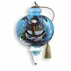 Ne'Qwa Winter Homes Finial Ornament Item #647  This beautiful  hand...