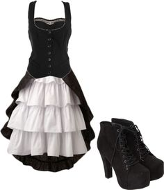 """Victorian Style"" by bvb3666 on Polyvore... cute"