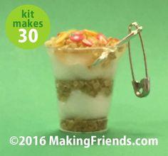 """Girl Scout Swaps Craft Kit """"Yogurt Parfait"""""""