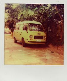 Van '70 [Polaroid Impossible Project's PX 680 film]