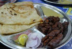 Paratha with Kabab