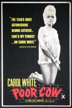 Carol White   POOR COW   movie poster   (1967)