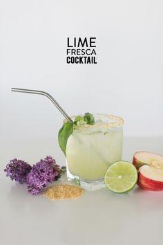 Lime Fresca Cocktail #recipe  Photography: Charla Storey - www.charlastorey.com  Read More: http://www.stylemepretty.com/living/2014/07/16/orange-fizz-cocktail/