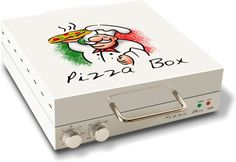 CuiZen Pizza Box Oven - http://coolpile.com/home-stuff-magazine/cuizen-pizza-box-oven via coolpile.com #Cooking #Cool #Gifts #Kitchen #coolpile