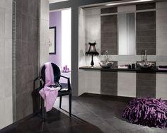 """Contemporary 18""""x18"""" Concrete Look Glazed Porcelain Tile"""