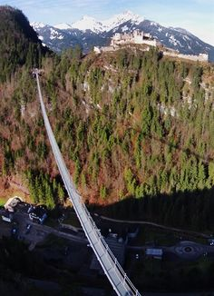 High Line 179 suspension bridge in Reutte Austria