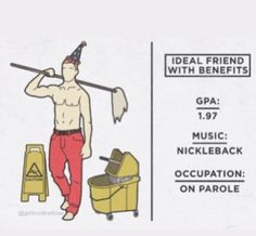 Ideal friend w/ benefits girl code