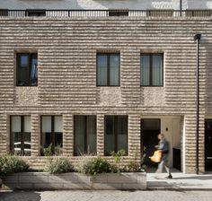 Silchester by Haworth Tompkins Modern Architecture Design, Brick Architecture, Architecture Awards, Facade Design, Exterior Design, Brown Roofs, Types Of Bricks, Brick Detail, Brick Texture