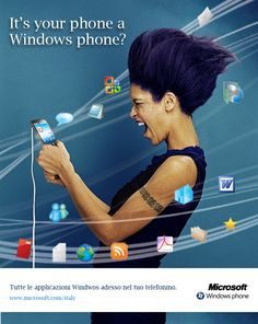 Print adv - Windows phone, ITA 2010