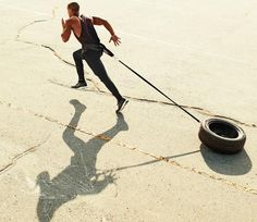 """Sled Sprint Interval Workout - 10 Workouts That Work Better Than """"Cardio"""" - Men's Fitness"""