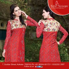 Elegant and classy, this Multi Color Printed kurti will surely get you noticed in the party crowd. You can adorn this kurti with leggings of your choice to look smart and stylish..#Roopshringar