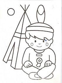 Mi Colección De Dibujos Indios Dibujos Para Colorear Indigenas Para Colorear Dibujos Para Colorear Dibujo Indio